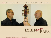 Lyrik-kontra-bass.de