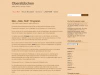 0berstuebchen.wordpress.com Webseite Vorschau