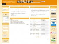 kirchenmusikliste.de Webseite Vorschau