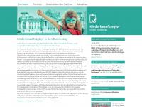 kinderbeauftragter-in-den-bundestag.de Webseite Vorschau