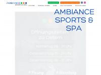 ambiance-sport.de Webseite Vorschau