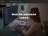 loran.co.at Webseite Vorschau