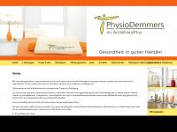 physio-demmers.de Webseite Vorschau