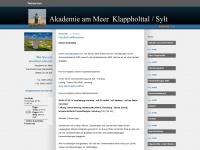 akademie-am-meer.de Webseite Vorschau
