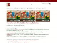 cocktailcontor.de Webseite Vorschau