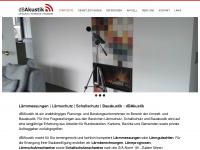dbakustik.ch Webseite Vorschau