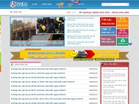 ancu.vn Webseite Vorschau