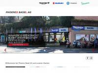 phoenixbasel.ch Webseite Vorschau