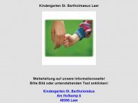 kindergarten-stbartholomaeus-laer.de Webseite Vorschau