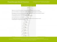 physio-perschon.de Webseite Vorschau