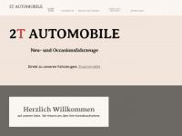 2tautomobile.ch Webseite Vorschau