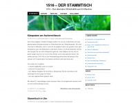 1516derstammtisch.wordpress.com Webseite Vorschau