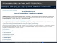 089-schluesseldienst.com Webseite Vorschau