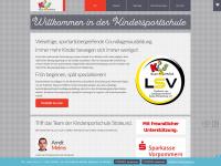 kindersportschule-stralsund.de Webseite Vorschau