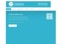physiotherapie-la-palma.com Webseite Vorschau