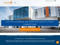 kvm-tec.com Webseite Vorschau