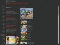 philippgrieb.de Webseite Vorschau