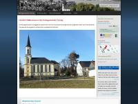 kirche-truenzig.de Webseite Vorschau