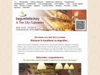 baguettefactory.de Webseite Vorschau