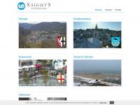 xsights.de Webseite Vorschau