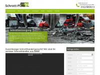 schrott-platz24.de Webseite Vorschau