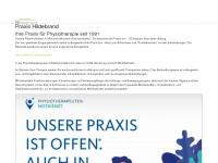 physio-hildebrand.de Webseite Vorschau