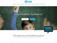 47xxy-klinefelter.de Webseite Vorschau