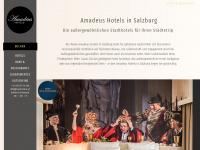 amadeushotels.at Webseite Vorschau