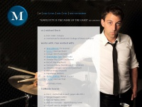 rent-a-drummer.com Webseite Vorschau