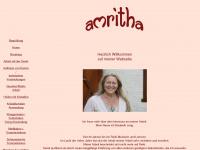 amritha.de Webseite Vorschau