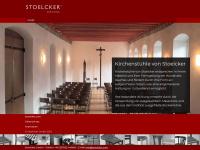 kirchen-stuehle.com Webseite Vorschau