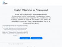 amateurscout.at Webseite Vorschau