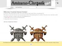 amizaras-shop.com Webseite Vorschau