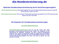 die-hundeversicherung.de