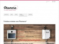 phomera-box.de Webseite Vorschau