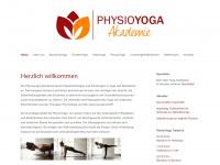 physioyoga.com Webseite Vorschau