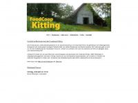 kitting.at Webseite Vorschau