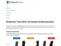 kindersitztests.com Webseite Vorschau