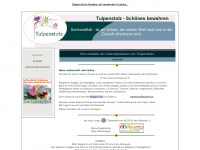 tulpenstolz.de Webseite Vorschau