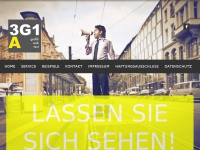 3g1a.de Webseite Vorschau