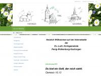 kirche-penig.info Webseite Vorschau