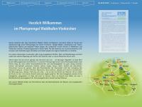 kirche-waldhufen-vierkirchen.de Webseite Vorschau
