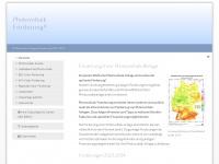 photovoltaik-foerderung.net Webseite Vorschau