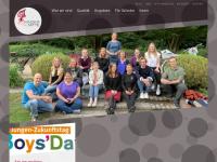 kindermitte.org Webseite Vorschau