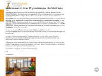 physiotherapie-marthiens.de Webseite Vorschau