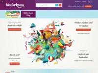 kinderkram.com Webseite Vorschau