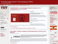 uvsvereinigung.wordpress.com Webseite Vorschau