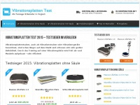 vibrationsplatte vibrationsplatte test kaufberatung september. Black Bedroom Furniture Sets. Home Design Ideas