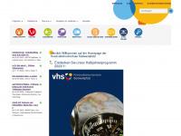 kvhs-swp.de Webseite Vorschau