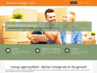 berliner-umzuege.com Webseite Vorschau